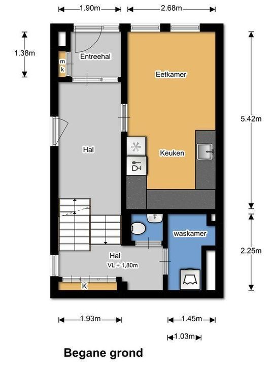 Gasthuislaan 12, Delft plattegrond-32