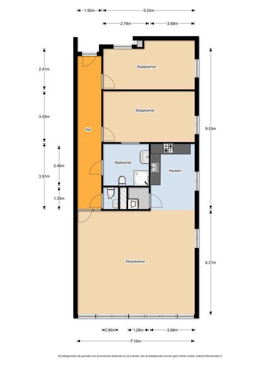 Ezelsveldlaan 14, Delft plattegrond-20