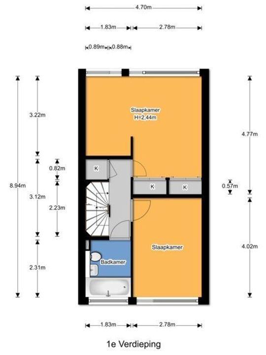 Van der Kamlaan 27, Delft plattegrond-40