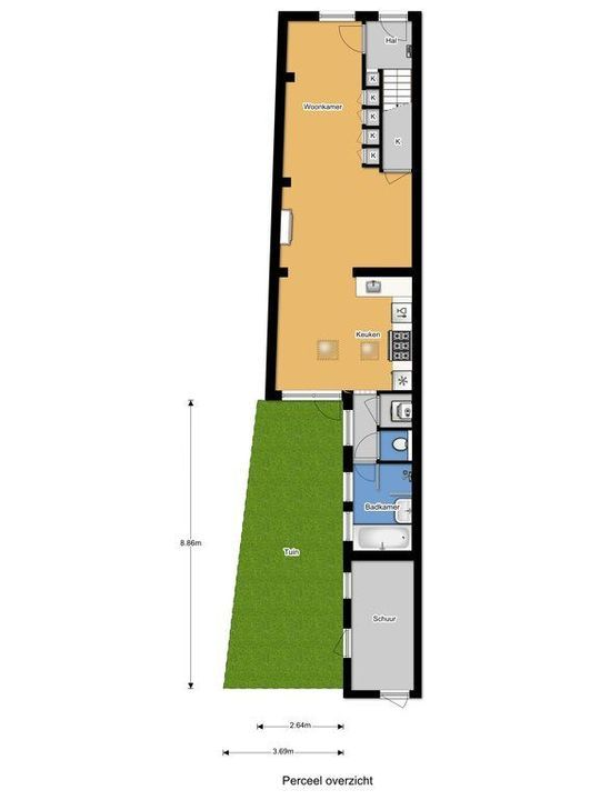 Oranje Plantage 23, Delft plattegrond-45