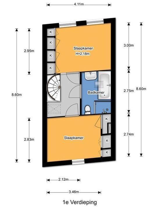 Verwersdijk 184, Delft plattegrond-37