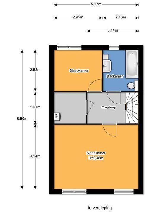 Lesothostraat 17, Delft plattegrond-33