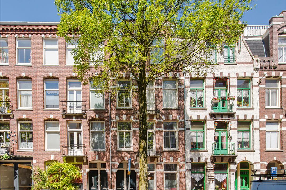 Tweede Helmersstraat 86 huis, Double downstairs house in Amsterdam foto-0