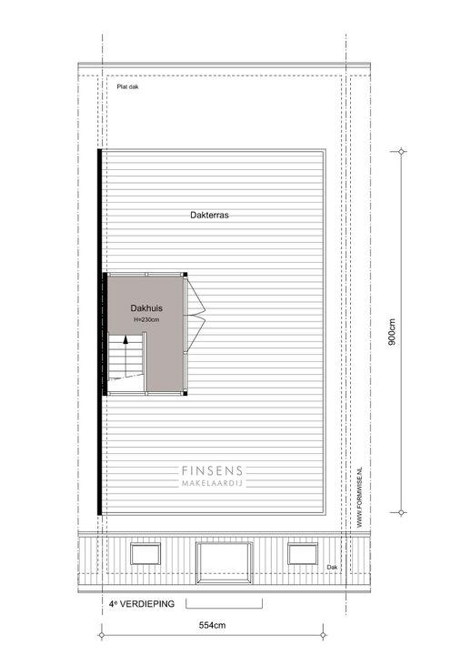 Van Eeghenstraat 4 bv, Bovenwoning in Amsterdam Plattegronden-2