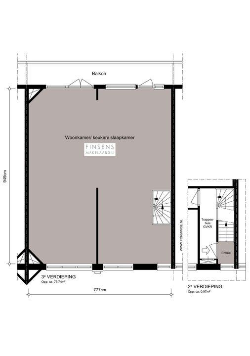 Van Speijkstraat 143 -III, Upper floor apartment in Amsterdam Plattegronden-0