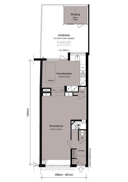 Jan Hanzenstraat 131, Terraced house in Amsterdam Plattegronden-0