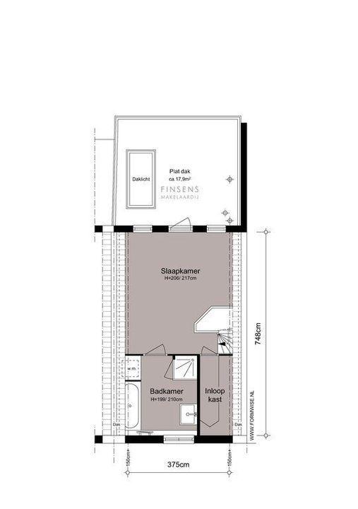 Jan Hanzenstraat 131, Terraced house in Amsterdam Plattegronden-1
