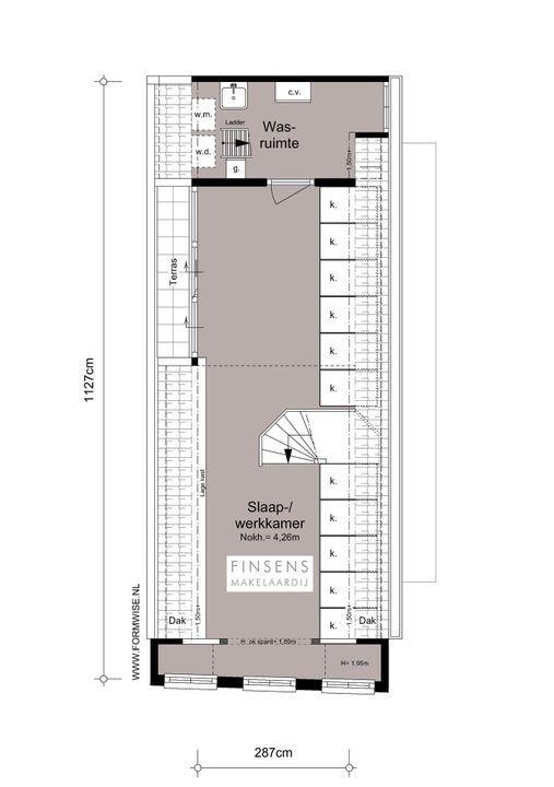Nieuwe Leliestraat 81, Corner house in Amsterdam Plattegronden-4