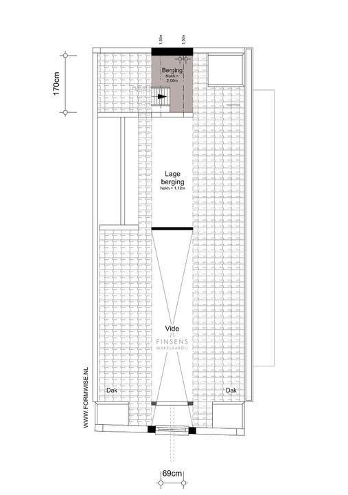 Nieuwe Leliestraat 81, Corner house in Amsterdam Plattegronden-5
