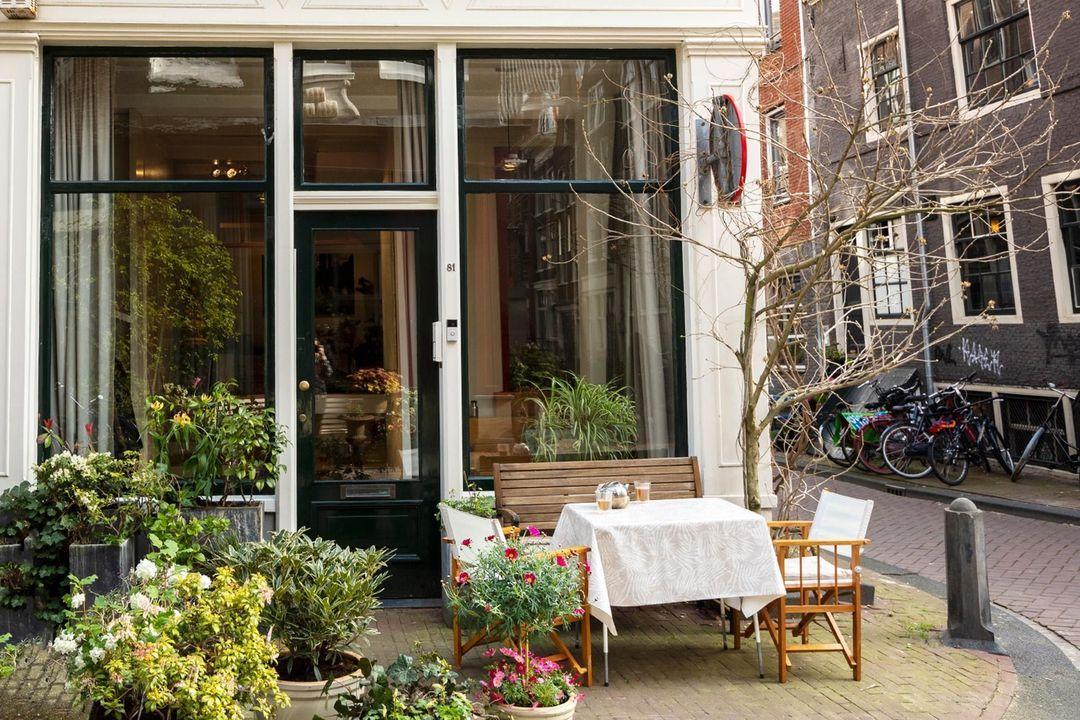 Nieuwe Leliestraat 81, Corner house in Amsterdam foto-1