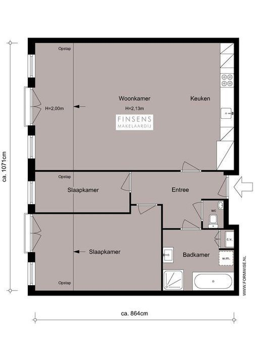 Koggestraat 5 -E, Upper floor apartment in Amsterdam Plattegronden-0