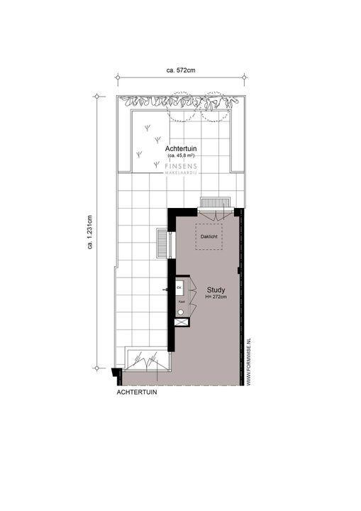 Rustenburgerstraat 294 huis, Double downstairs house in Amsterdam Plattegronden-2