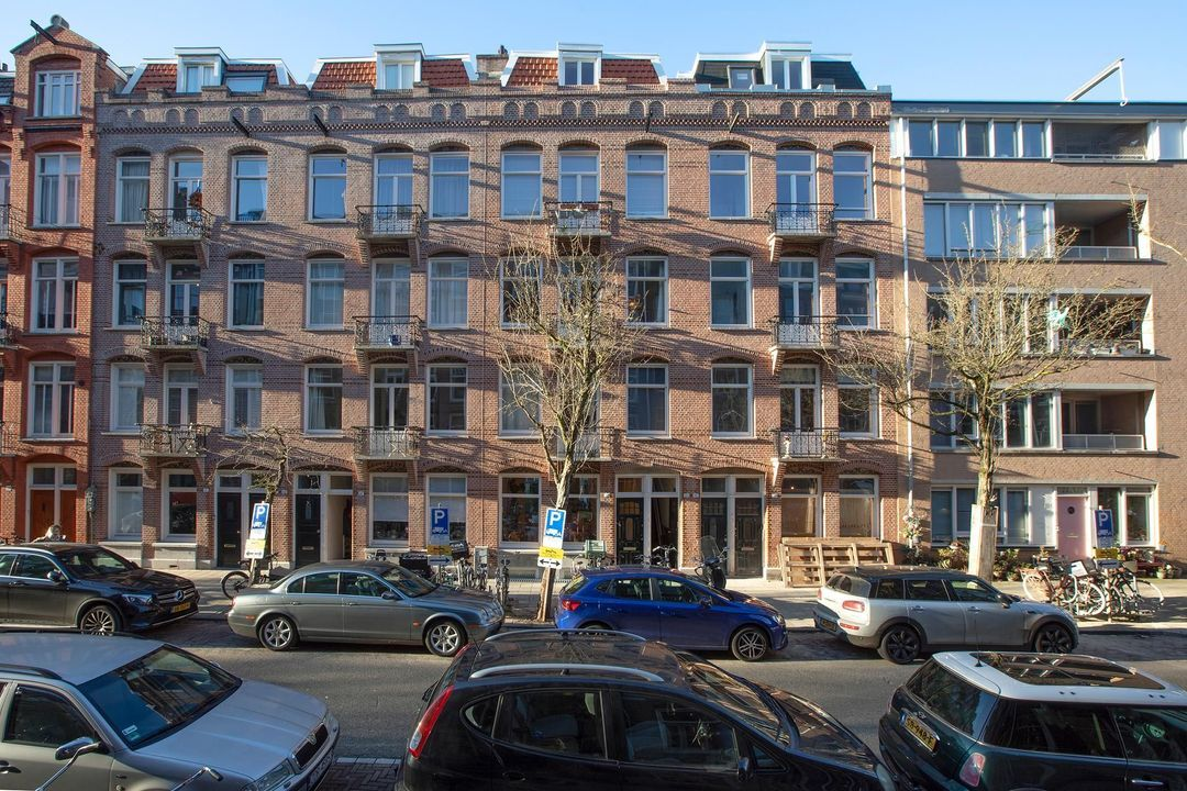 Rustenburgerstraat 294 huis, Double downstairs house in Amsterdam foto-0