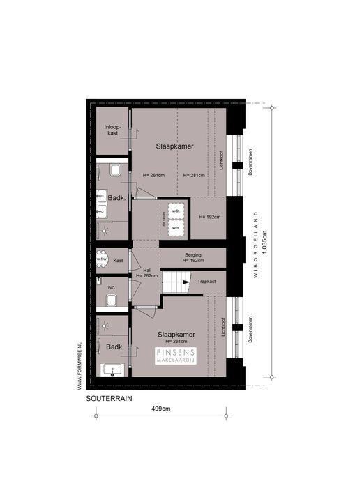Wiborgeiland 102, Maisonnette in Amsterdam Plattegronden-1