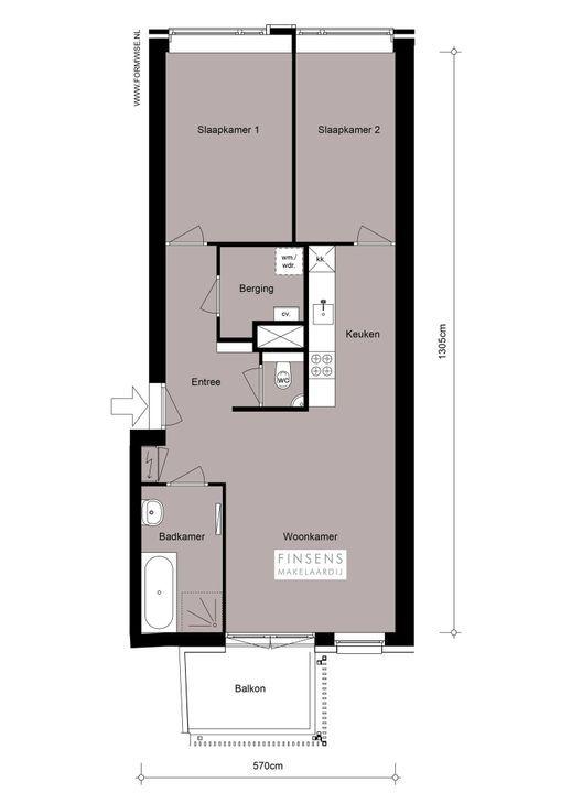 Tugelaweg 40 -f+PP, Bovenwoning in Amsterdam Plattegronden-0
