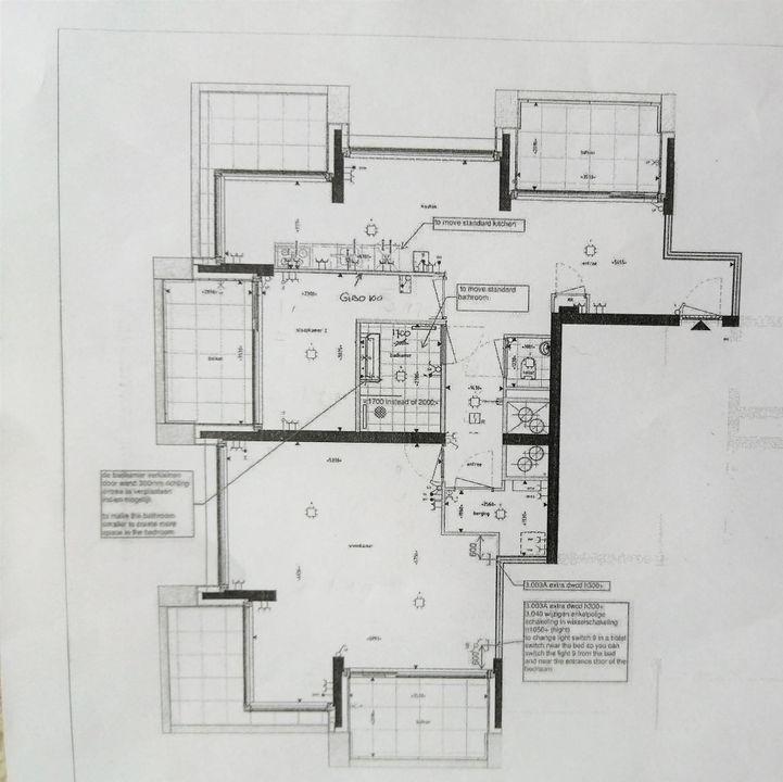 Bundlaan 162, Upper floor apartment in Amsterdam Plattegronden-0