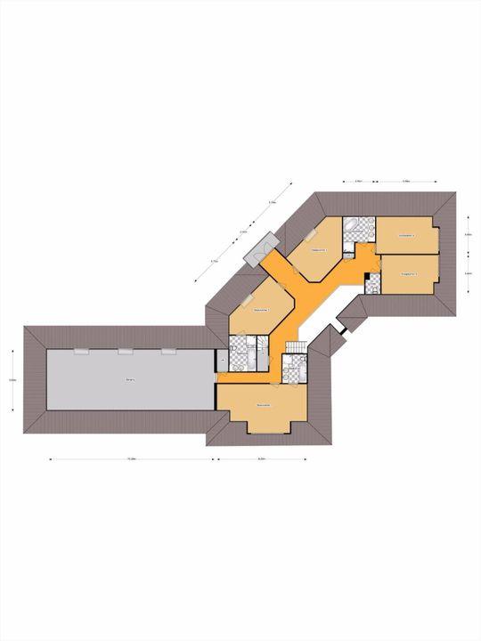 Gentspolder 3, Bergen Op Zoom plattegrond-