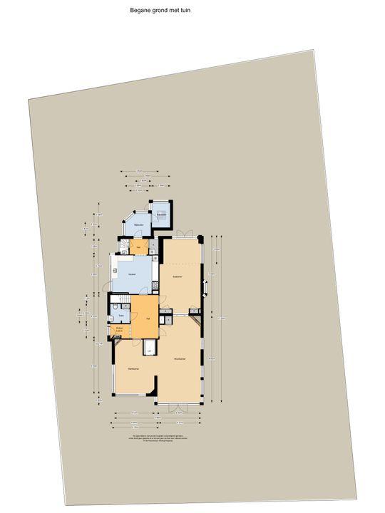 Zandvoorterweg 57 a, Aerdenhout plattegrond-