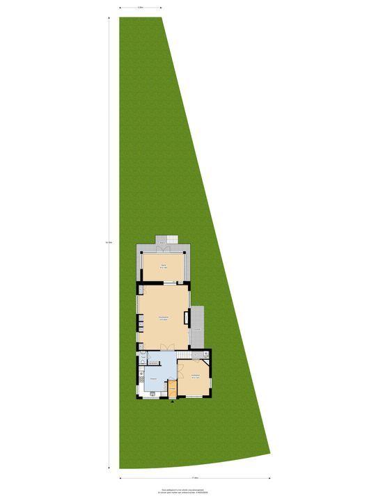 Ter Hoffsteedeweg 24, Overveen plattegrond-