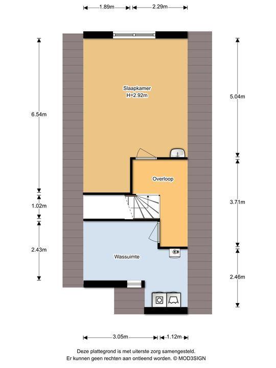 Gezina van der Molenlaan 2, Aerdenhout plattegrond-