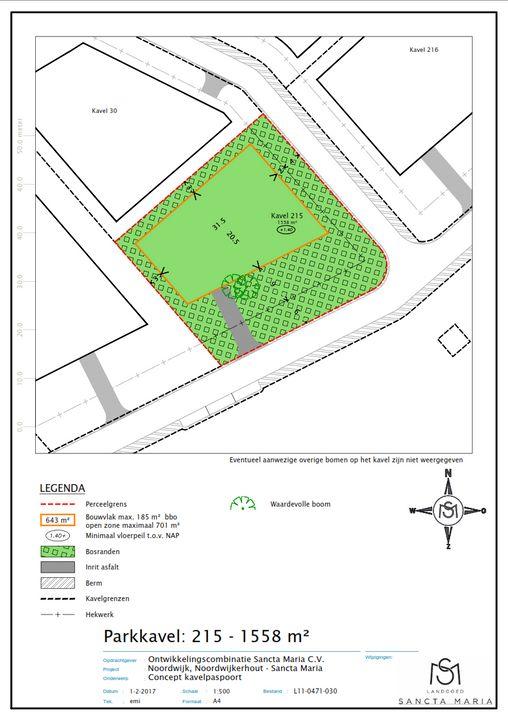 Pauluslaan 41, Noordwijk plattegrond-