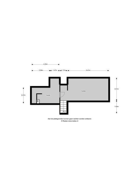 Damlaan 3, Eefde plattegrond-