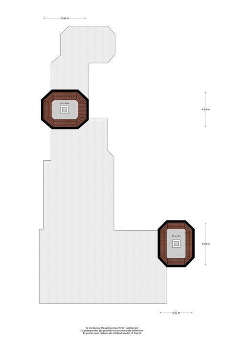 Hengelosestraat 17, Haaksbergen plattegrond-