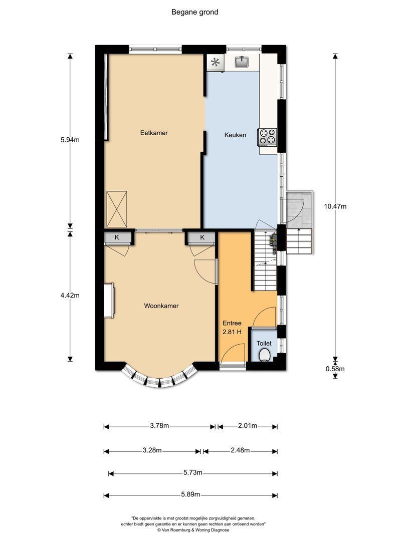 Burgemeester Warnaarkade 6, Hazerswoude-Dorp plattegrond-26