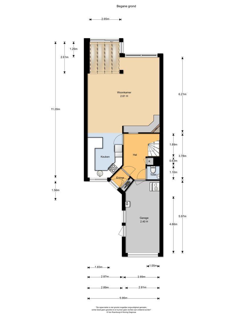 De Slingerkamp 12, Nieuwkoop plattegrond-17
