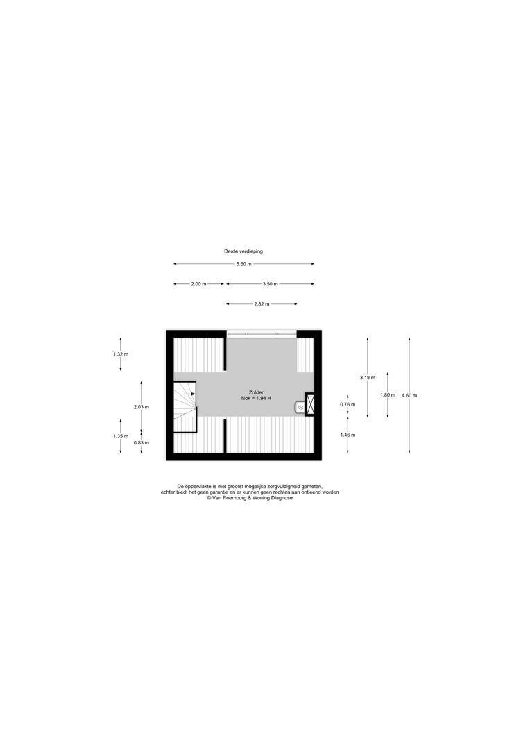 Esdoornstraat 2, Nieuwkoop plattegrond-15