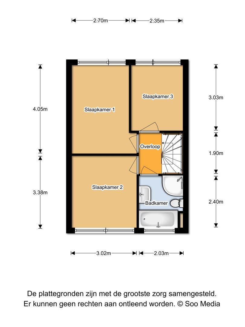 Witte Klaver 103, Woubrugge plattegrond-17
