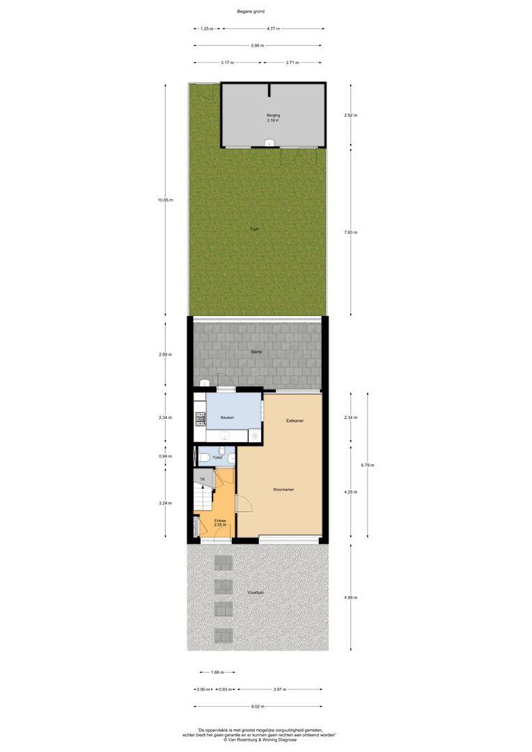 Meidoornlaan 36, Nieuwkoop plattegrond-18