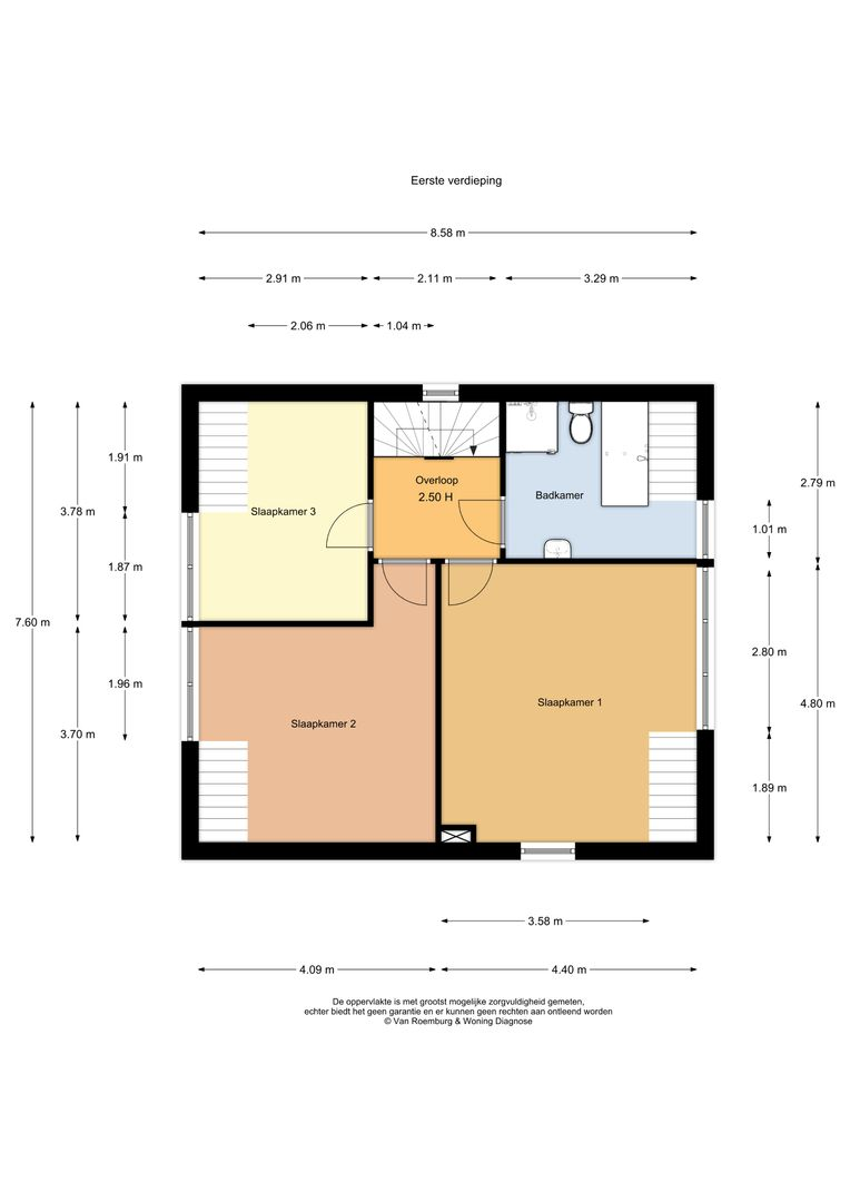 Kievitlaan 2, Koudekerk Aan Den Rijn plattegrond-17