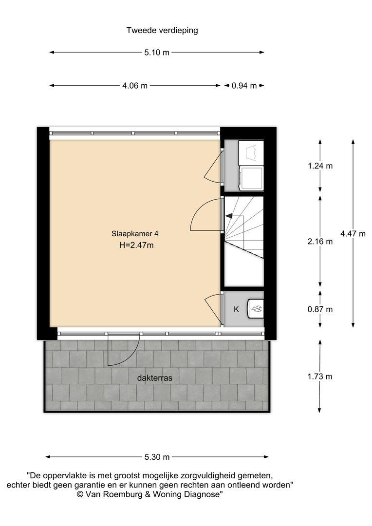 Prins Hendrikstraat 38, Alphen Aan Den Rijn plattegrond-19