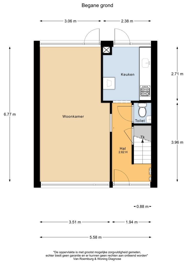 Oranjelaan 12, Nieuwkoop plattegrond-16