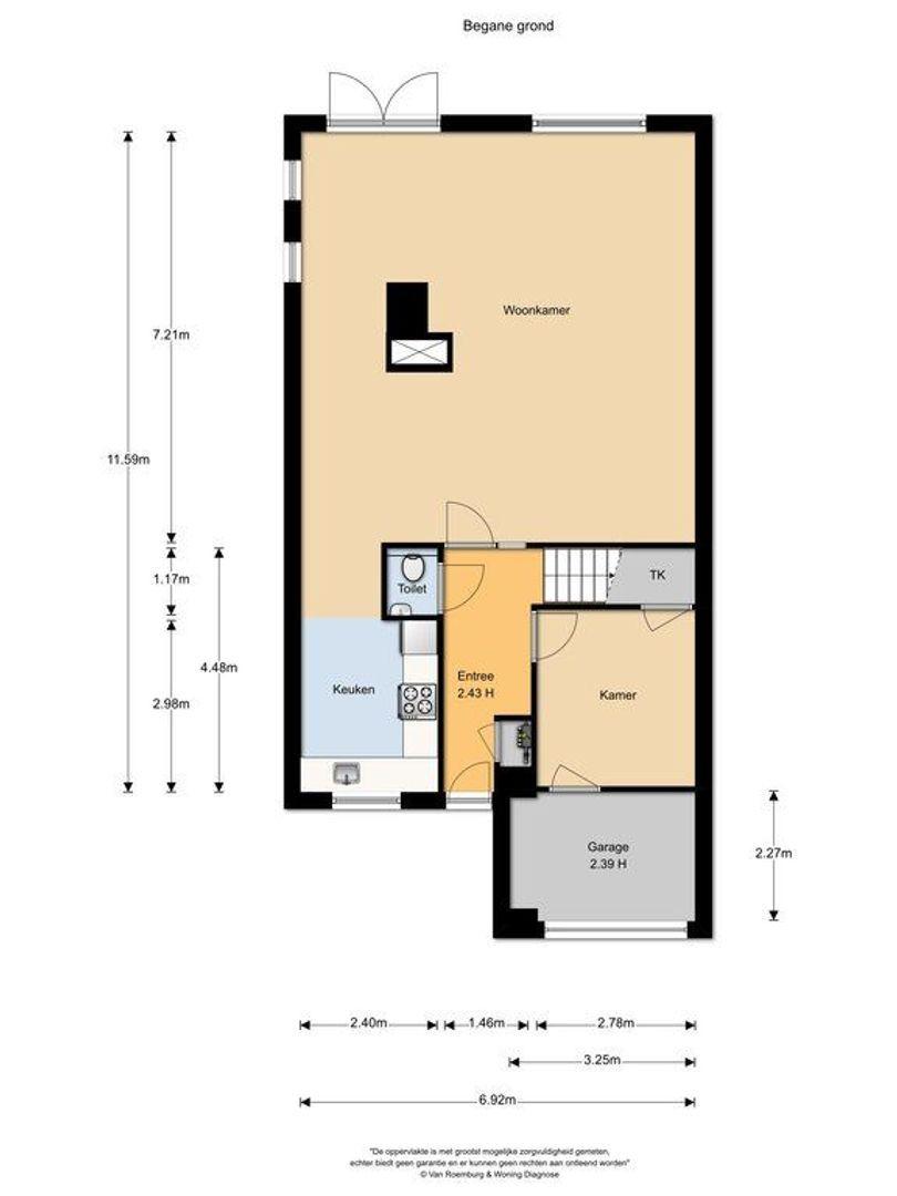 Bootshaak 13, Nieuwkoop plattegrond-18