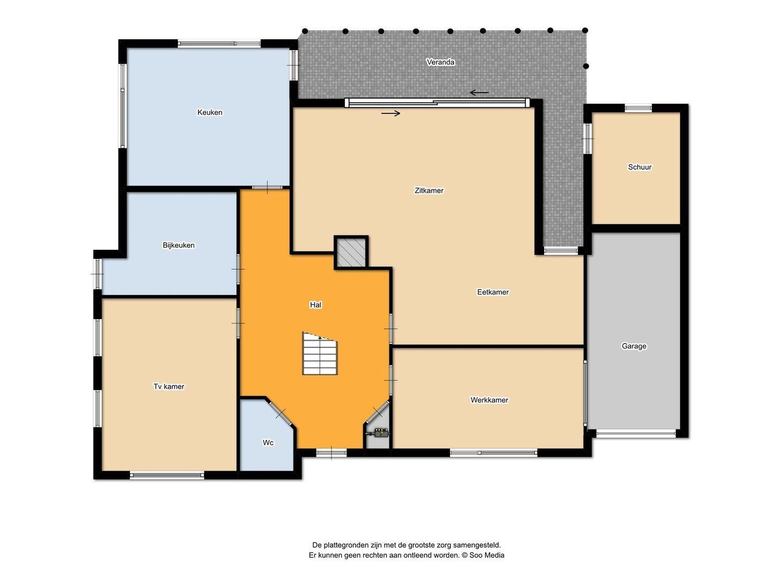 Hoogerheijdestraat 54, Ter Aar plattegrond-24