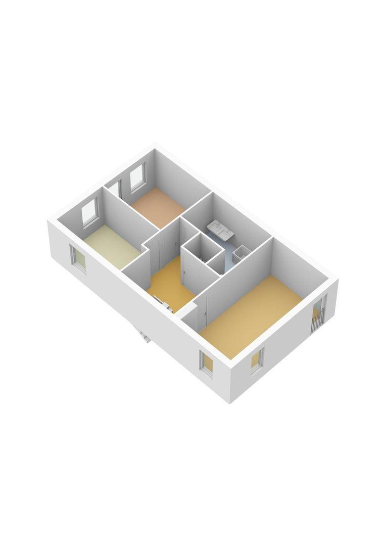 Veldesdoorn 43, Nieuwveen plattegrond-25