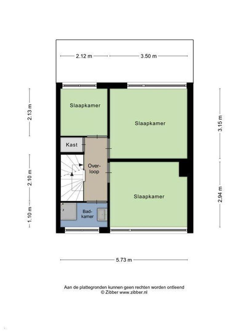 Anna van Saksenstraat 26, Alphen Aan Den Rijn plattegrond-14