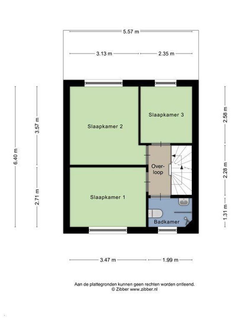 Sperwerstraat 3, Alphen Aan Den Rijn plattegrond-15