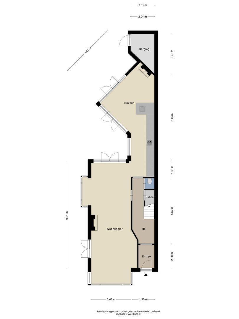 Toussaintstraat 55, Alphen Aan Den Rijn plattegrond-26