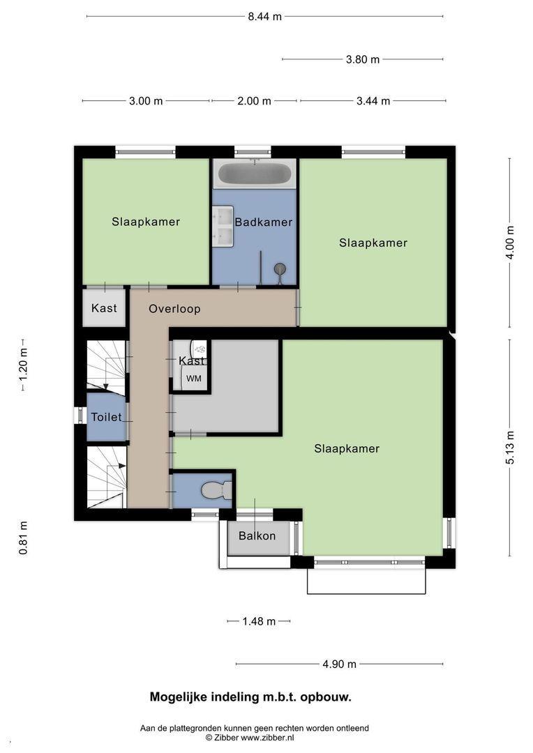 Hooftstraat 256, Alphen Aan Den Rijn plattegrond-21