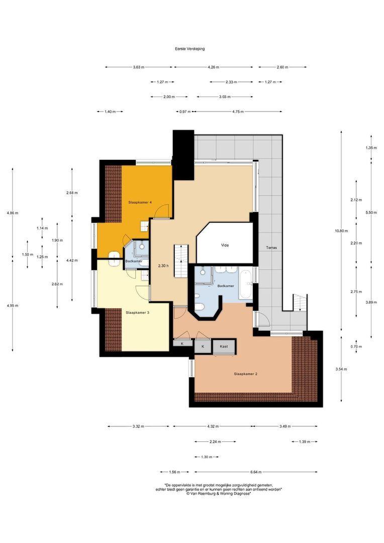 Zuideinde 32 b, Nieuwkoop plattegrond-35