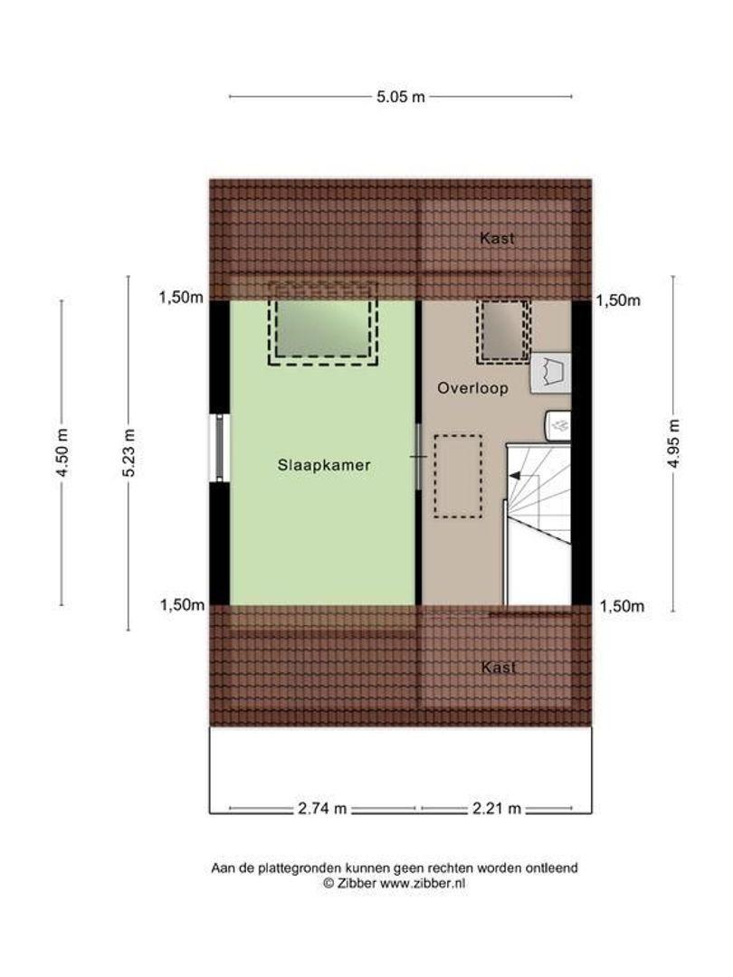 Asmanstraat 7, Woubrugge plattegrond-18