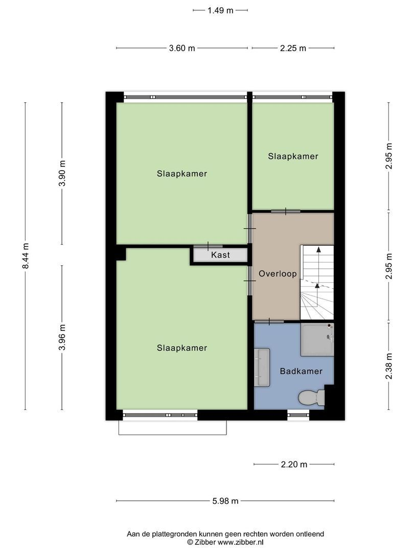 Handelhof 70, Alphen Aan Den Rijn plattegrond-22