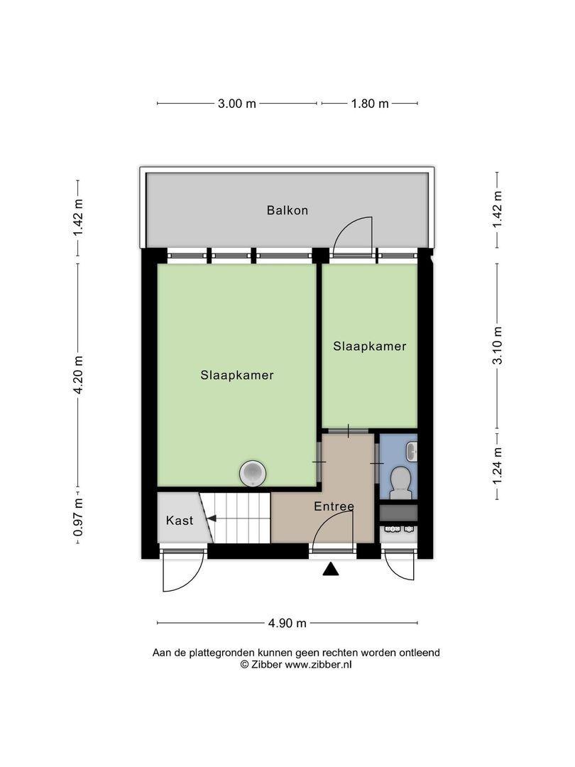 Aidaplein 87, Alphen Aan Den Rijn plattegrond-18