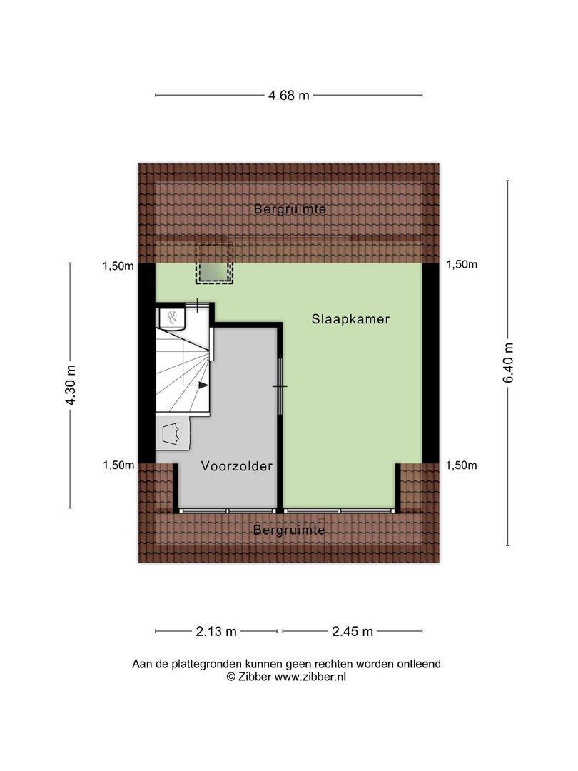 Jan Pieterszoon Coenlaan 4, Alphen Aan Den Rijn plattegrond-17