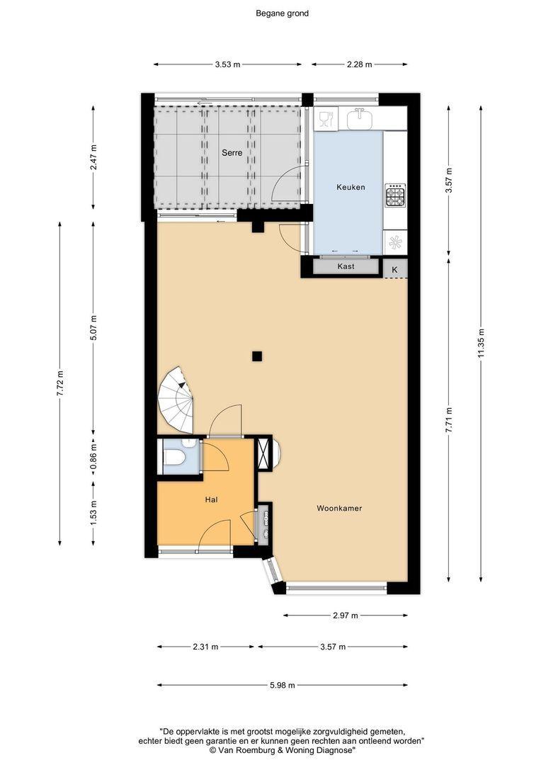 Antaresstraat 1, Alphen Aan Den Rijn plattegrond-25