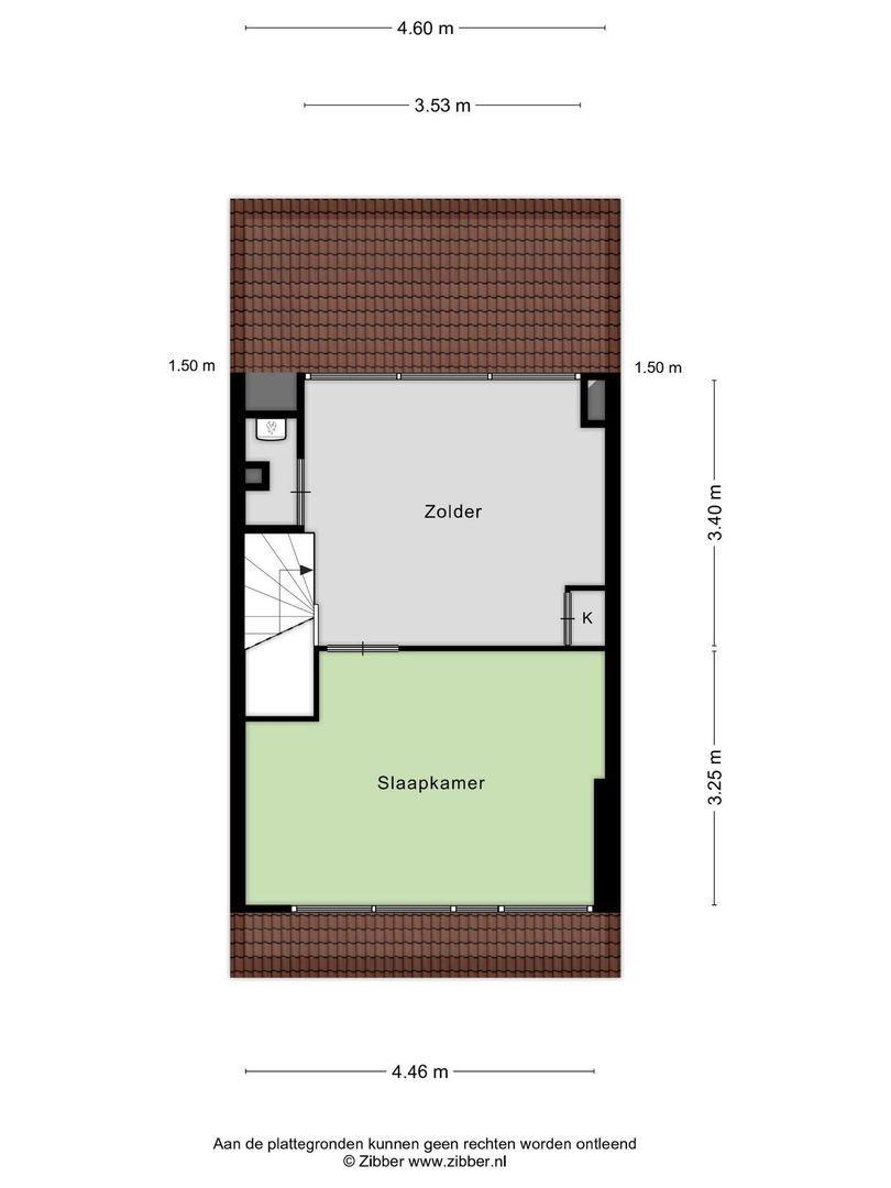 Schubertplantsoen 45, Hazerswoude-Rijndijk plattegrond-17