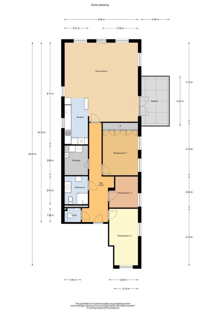 Prins Hendrikstraat 122 A, Alphen Aan Den Rijn plattegrond-22